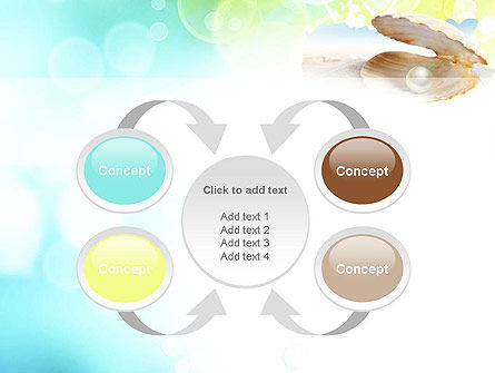 Pearl in the Shell PowerPoint Template Slide 6