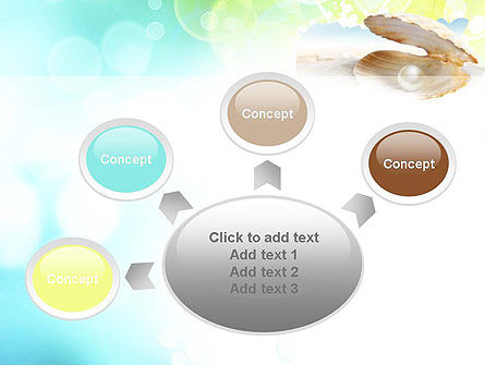Pearl in the Shell PowerPoint Template Slide 7