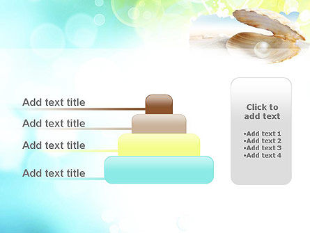 Pearl in the Shell PowerPoint Template Slide 8