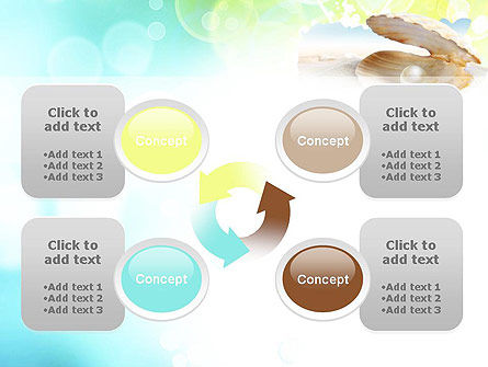 Pearl in the Shell PowerPoint Template Slide 9