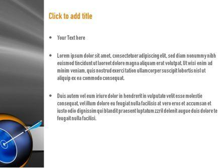 Hit Target PowerPoint Template, Slide 3, 11135, Business Concepts — PoweredTemplate.com