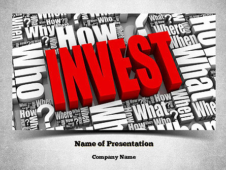 Investments PowerPoint Template