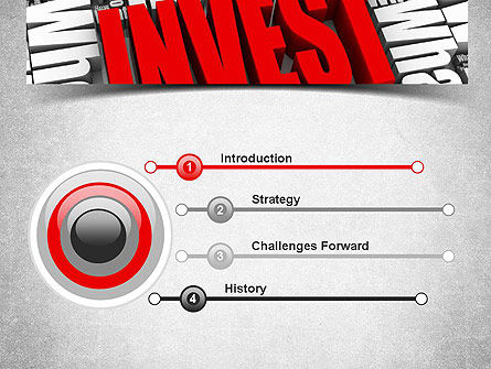 Investments PowerPoint Template, Slide 3, 11136, Financial/Accounting — PoweredTemplate.com