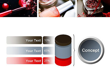 Makeup Tools PowerPoint Template Slide 11