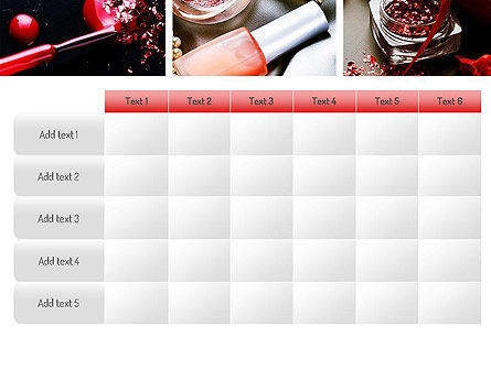 Makeup Tools PowerPoint Template Slide 15