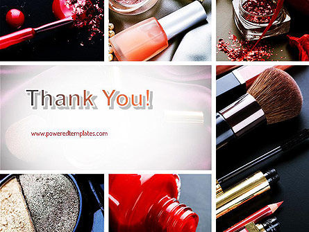 Makeup Tools PowerPoint Template Slide 20