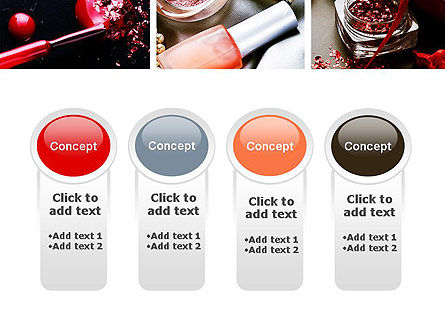 Makeup Tools PowerPoint Template Slide 5