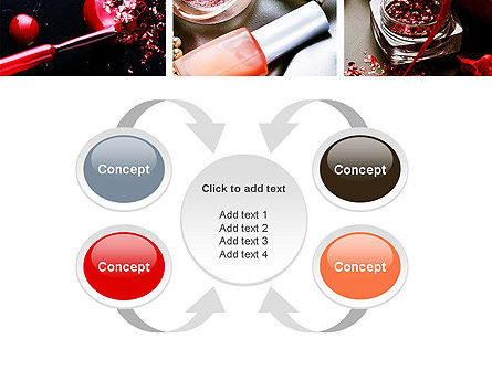 Makeup Tools PowerPoint Template Slide 6