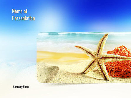 Summer Theme PowerPoint Template, 11139, Holiday/Special Occasion — PoweredTemplate.com