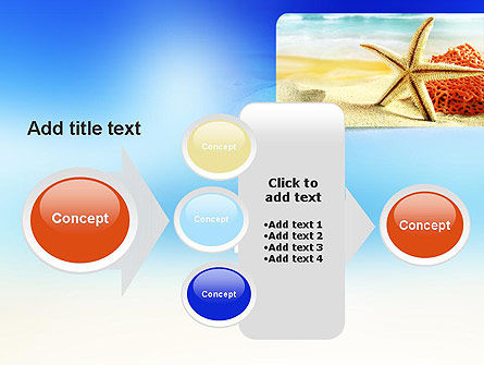Summer Theme PowerPoint Template Slide 17