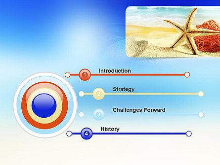 Summer Theme Powerpoint Template Backgrounds