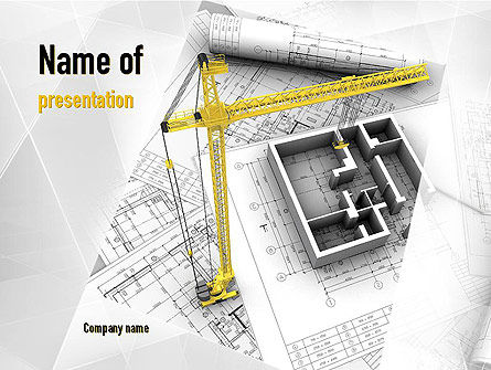 Construction: Constructing PowerPoint Template #11143