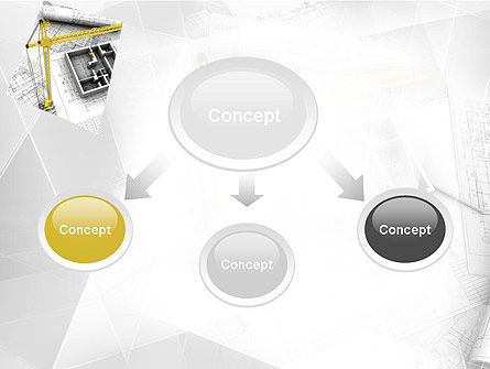 Constructing PowerPoint Template Slide 4