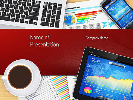 Business: Plantilla de PowerPoint - negocio en casa #11144