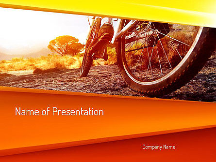 Active Leisure PowerPoint Template, 11145, Sports — PoweredTemplate.com