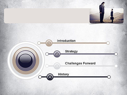 Subordinate PowerPoint Template Slide 3