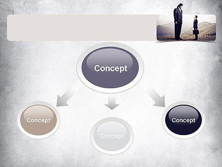 Subordinate PowerPoint Template, Slide 4, 11146, People — PoweredTemplate.com
