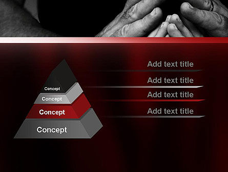 Family Praying PowerPoint Template, Slide 4, 11147, Religious/Spiritual — PoweredTemplate.com