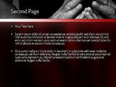 Family Praying PowerPoint Template#2