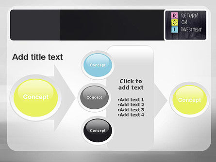 ROI PowerPoint Template Slide 17