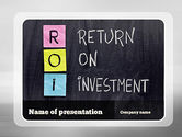 Financial/Accounting: ROI PowerPoint Template #11148