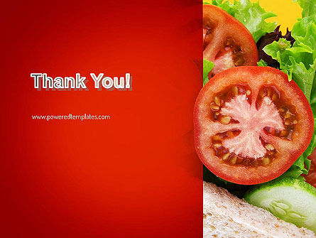 Healthy Sandwich PowerPoint Template Slide 20