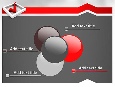 Red Check Mark PowerPoint Template Slide 10