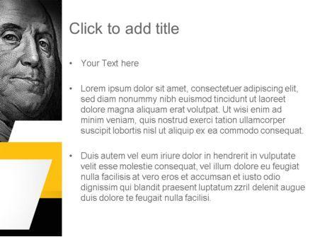 Dollar PowerPoint Template, Slide 3, 11154, Financial/Accounting — PoweredTemplate.com