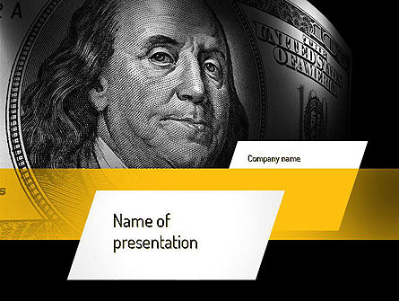 Dollar PowerPoint Template, 11154, Financial/Accounting — PoweredTemplate.com