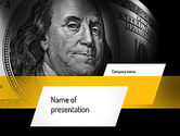 Financial/Accounting: Plantilla de PowerPoint - dólar #11154