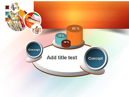 Paintbrushes PowerPoint Template Slide 16