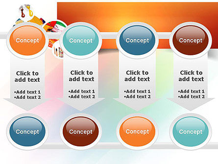 Paintbrushes PowerPoint Template Slide 18