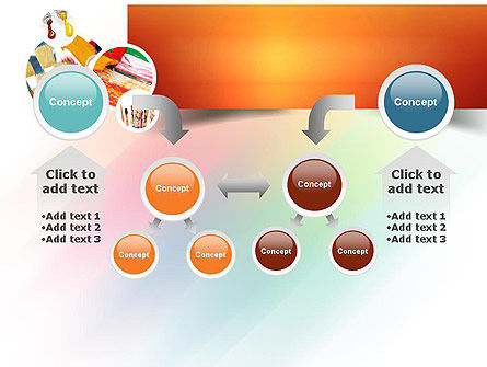Paintbrushes PowerPoint Template Slide 19