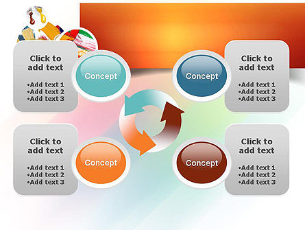 Paintbrushes PowerPoint Template Slide 9