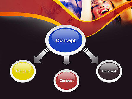 Party Time PowerPoint Template, Slide 4, 11158, Art & Entertainment — PoweredTemplate.com