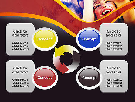 Party Time PowerPoint Template Slide 9