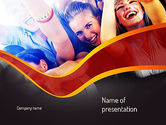 Art & Entertainment: Party Time PowerPoint Template #11158