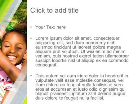 Happy Sisters PowerPoint Template, Slide 3, 11159, People — PoweredTemplate.com