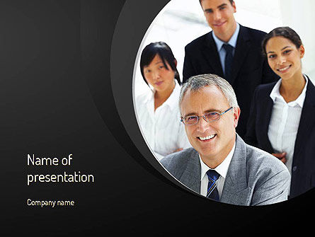 Consultancy Services PowerPoint Template, 11162, Consulting — PoweredTemplate.com