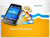 Technology and Science: Mobile Banking PowerPoint Template #11165