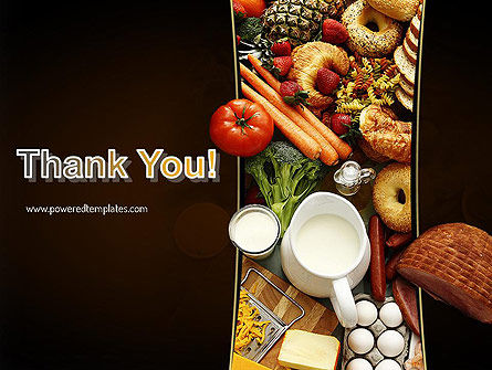 Plenty of Food PowerPoint Template Slide 20