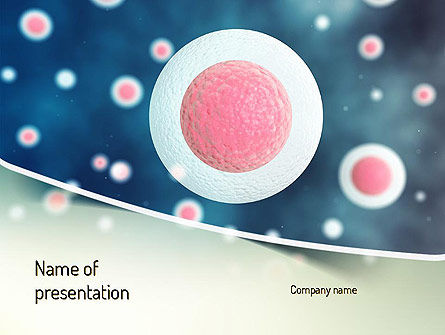 Medical: Stem Cell PowerPoint Template #11170