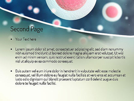 Stem Cell PowerPoint Template, Slide 2, 11170, Medical — PoweredTemplate.com