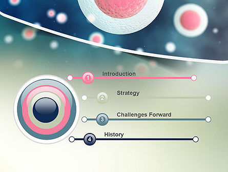 Stem Cell PowerPoint Template, Slide 3, 11170, Medical — PoweredTemplate.com