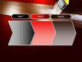Painting Wood Floor PowerPoint Template#16