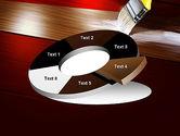 Painting Wood Floor PowerPoint Template#19