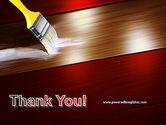 Painting Wood Floor PowerPoint Template#20