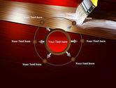 Painting Wood Floor PowerPoint Template#7