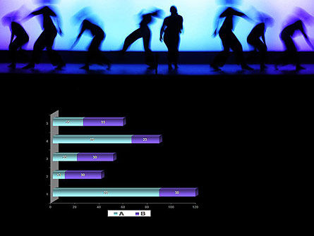 Dancing Silhouettes PowerPoint Template Slide 11
