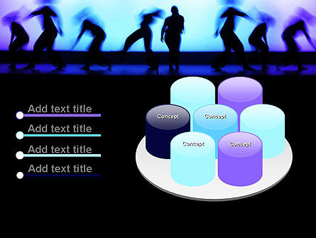 Dancing Silhouettes PowerPoint Template Slide 12
